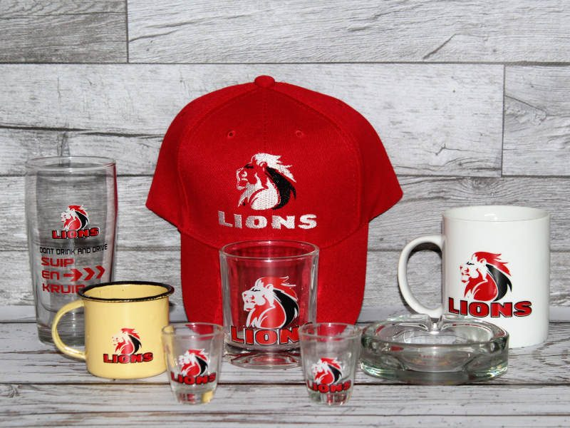 Rugby Lion Crate